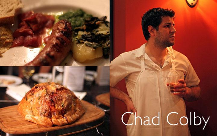 Chad Colby Sausage pork pie