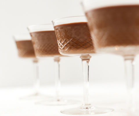 Here I show how easy it is to make milk chocolate panna cotta – the ...