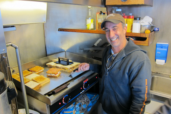Dave Danhi - Grilled Cheese Truck Sandwiches