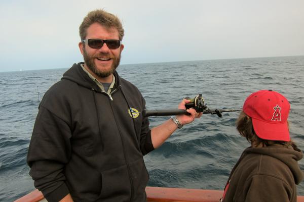 Michael Cimarusti Fishing